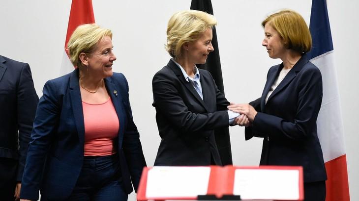 "Défense: neuf pays européens signent une ""Initiative européenne d'intervention""  - ảnh 1"