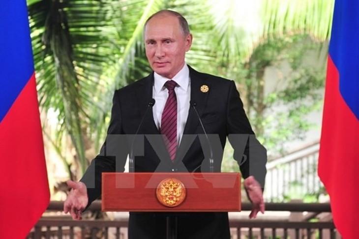 Vladimir Poutine vante l'arsenal nucléaire de la Russie  - ảnh 1