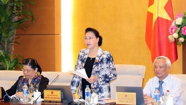25e session du comité permanent de l'Assemblée nationale: dernière journée - ảnh 1