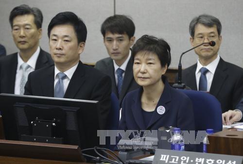 L'ex-présidente sud-coréenne condamnée à 8 ans de prison supplémentaires - ảnh 1
