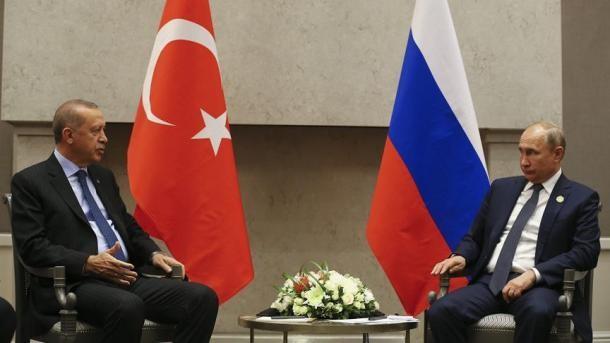 Les présidents turc et russe satisfaits des relations économiques bilatérales - ảnh 1