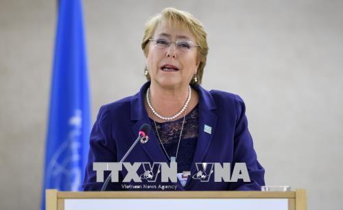 Michelle Bachelet nommée Haut-commissaire à l'ONU - ảnh 1
