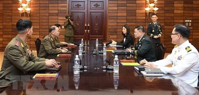 Inauguration du bureau de liaison commun des deux Corées à Gaeseong - ảnh 1