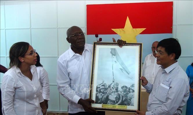 45e anniversaire de la visite de Fidel Castro à Quang Tri - ảnh 1