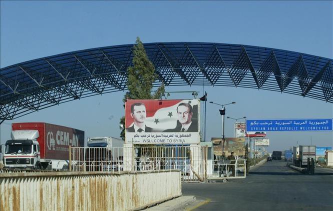 La Syrie et la Jordanie discutent de la réouverture d'un poste-frontière - ảnh 1