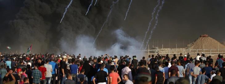 Gaza : trois Palestiniens, dont un mineur, tués dans des tirs israéliens - ảnh 1