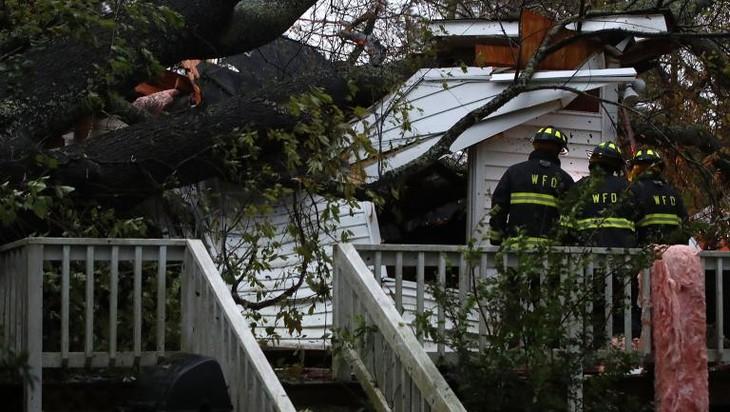 Etats-Unis : l'ouragan Florence a fait au moins quatre morts - ảnh 1