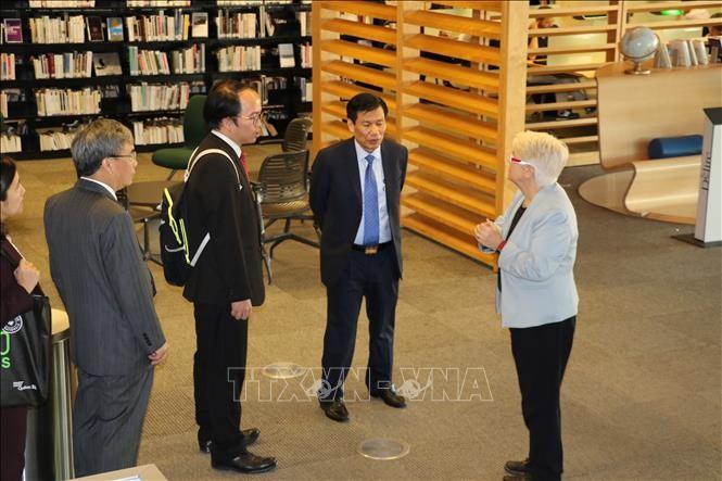 Le ministre vietnamien de la Culture au Québec - ảnh 1