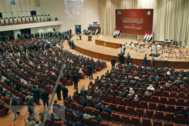 Irak : un nouveau président élu au Parlement après des semaines d'impasse - ảnh 1