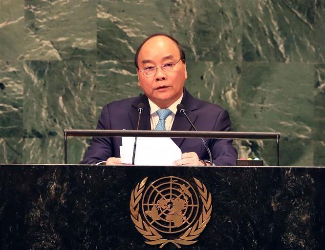 73e Assemblée générale de l'ONU: Nguyên Xuân Phuc prononce un discours  - ảnh 1