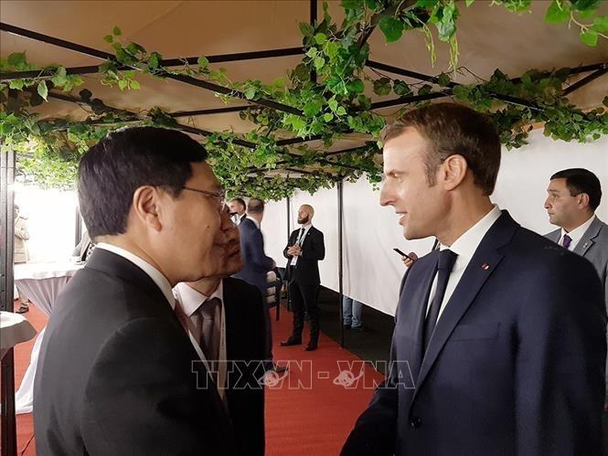 Le chef de la diplomatie vietnamienne au Sommet de la Francophonie - ảnh 1