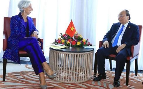 Nguyên Xuân Phuc à l'ouverture des assemblées annuelles du FMI et de la BM - ảnh 1