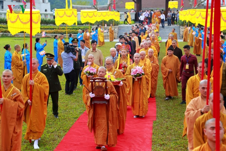 Célébration du 710e anniversaire de l'accession au Nirvana du Roi-Bouddha Trân Nhân Tông - ảnh 1