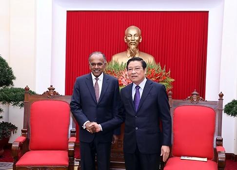 Le Vietnam plaide pour une coopération étroite avec Singapour - ảnh 1