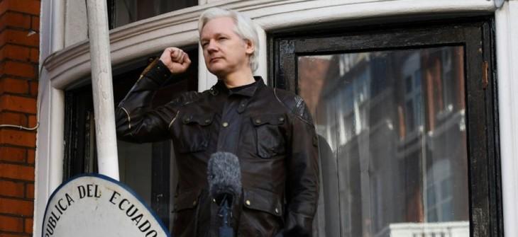 «Conditions réunies» pour qu'Assange quitte l'ambassade d'Equateur à Londres  - ảnh 1