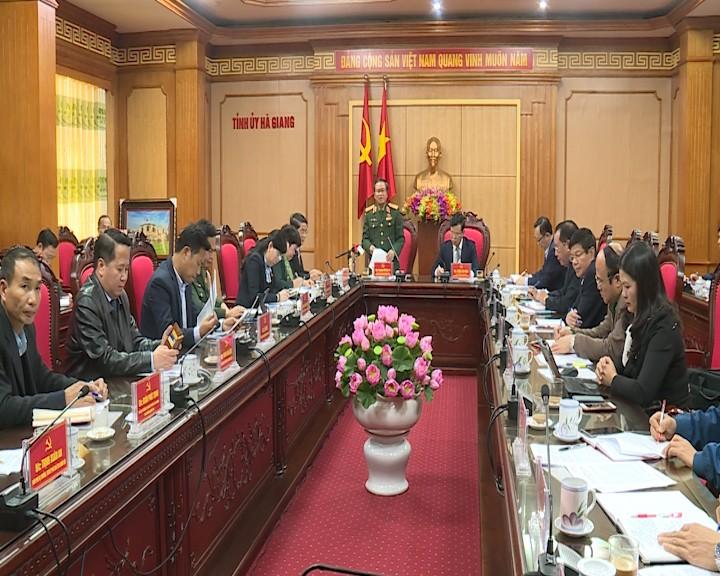 Le vice-président de l'AN Do Ba Ty en déplacement à Hà Giang - ảnh 1