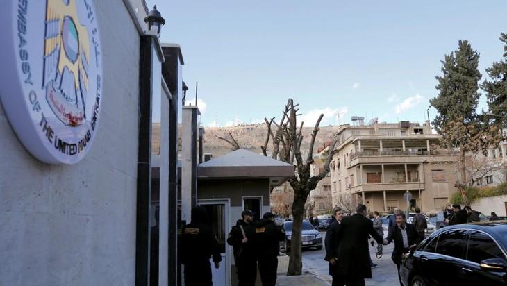 Syrie: les Émirats arabes unis rouvrent leur ambassade à Damas - ảnh 1
