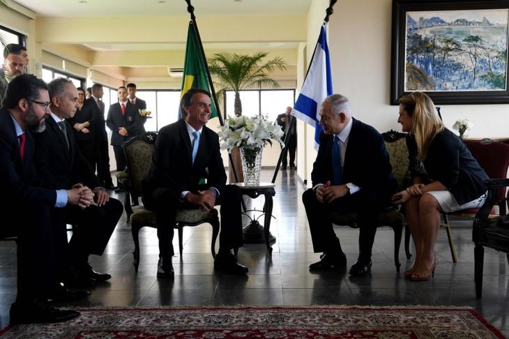 """Bolsonaro et Netanyahu saluent une nouvelle """"fraternité"""" entre le Brésil et Israël - ảnh 1"""