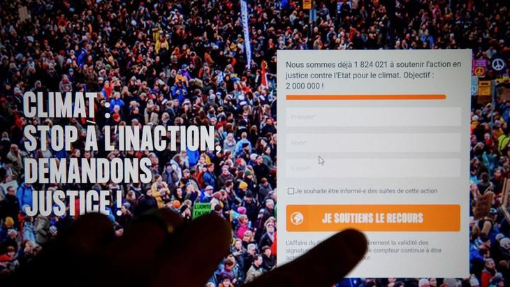 Climat: une pétition contre l'État français mobilise 2 millions de signataires - ảnh 1