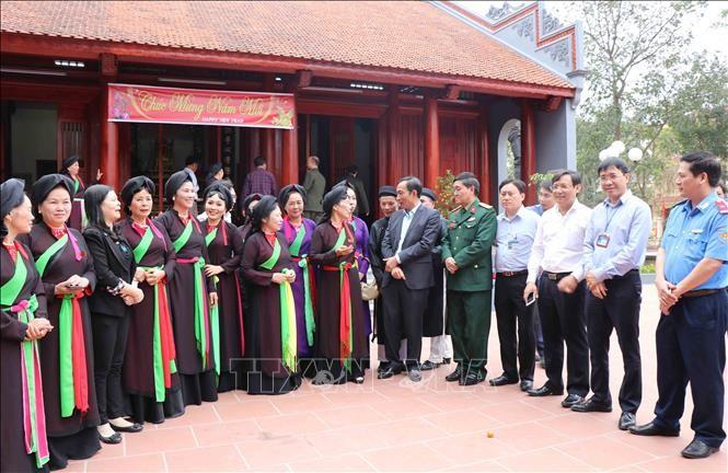 Bientôt la fête de Lim à Bac Ninh, le pays du quan ho - ảnh 1