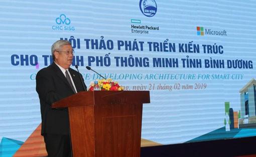 Colloque sur le développement d'une ville intelligente à Binh Duong - ảnh 1