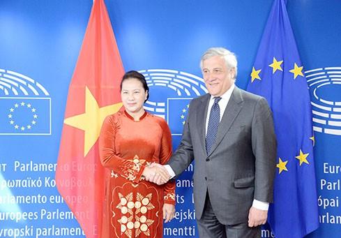Entretien Nguyên Thi Kim Ngân - Antonio Tajani - ảnh 1