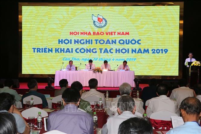 Réunion de l'Association des journalistes vietnamiens  - ảnh 1