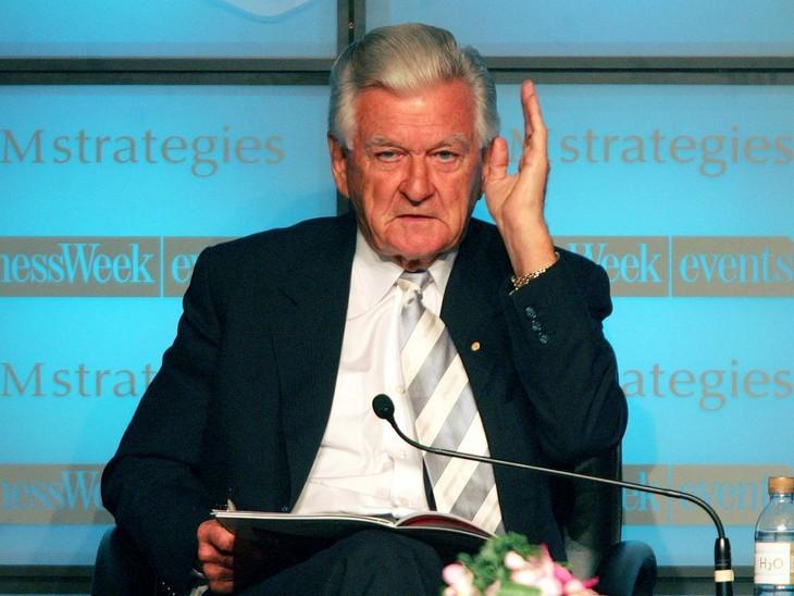 Mort de l'ex-Premier ministre travailliste australien Bob Hawke - ảnh 1