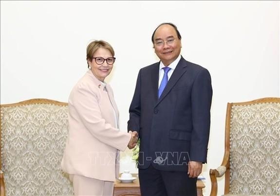 Nguyên Xuân Phuc reçoit la ministre brésilienne de l'Agriculture - ảnh 1