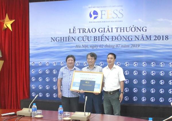 Remise des prix pour les études sur la mer Orientale 2018 - ảnh 1