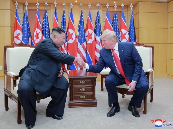 Donald Trump souhaite rencontrer Kim Jong-un prochainement - ảnh 1