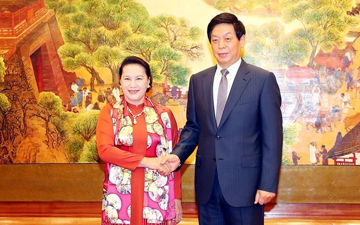 Entretien Nguyên Thi Kim Ngân - Li Zhanshu - ảnh 1