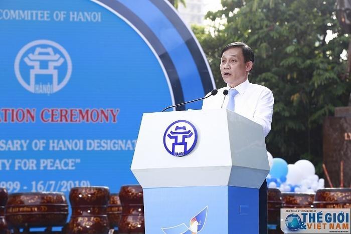 Hanoi fête ses 20 ans de «Ville pour la paix » - ảnh 1