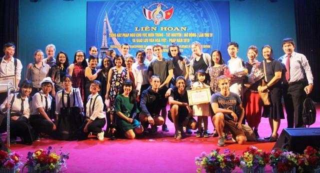 Danang : concours de chansons francophones du Centre et du Tây Nguyên  - ảnh 1
