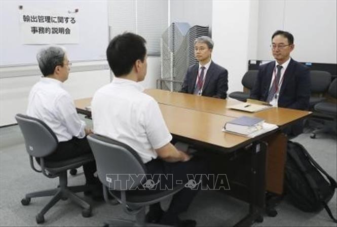 Les tensions entre Tokyo et Séoul s'intensifient avec des comptes rendus controversés de réunions commerciales - ảnh 1