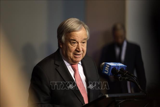 Guterres condamne l'attentat terroriste contre un hôtel en Somalie - ảnh 1
