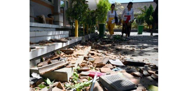Un séisme et début de panique à Bali  - ảnh 1