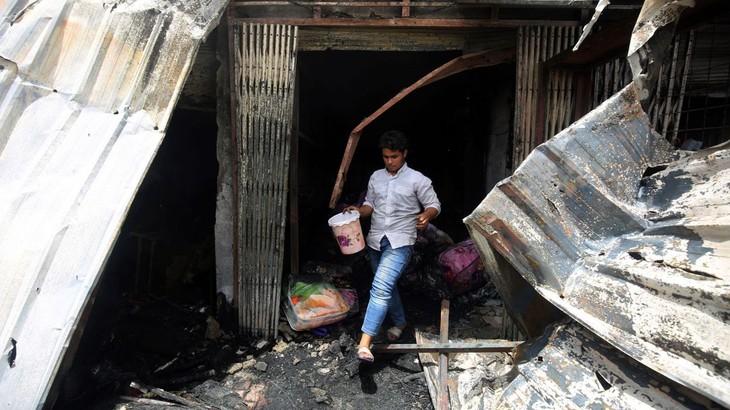 Irak: au moins cinq morts à Bagdad - ảnh 1