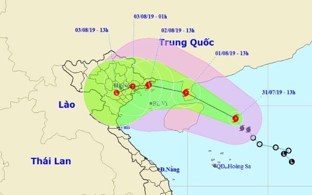Le Vietnam se prépare à l'arrivée du typhon Wipha - ảnh 1