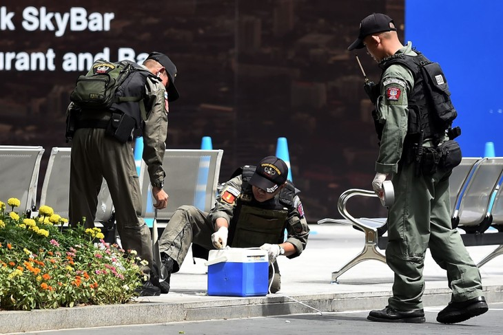 Thaïlande: deux femmes blessées dans deux explosions à Bangkok - ảnh 1