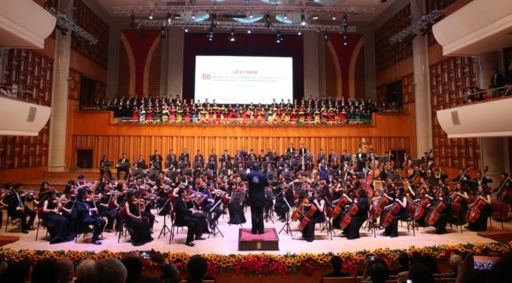 Vietnam National Academy of Music celebrates 60th anniversary - ảnh 1