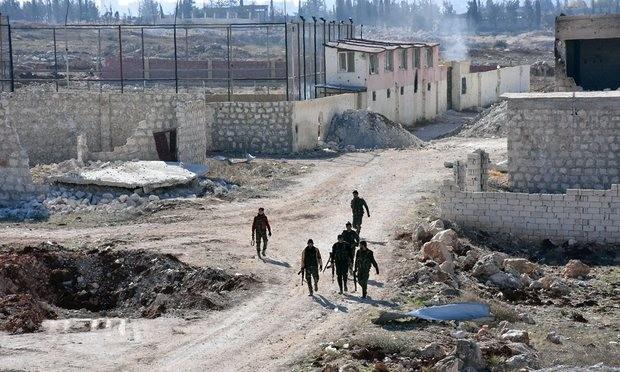 Syrian army recaptures Masaken Hanano in Aleppo - ảnh 1