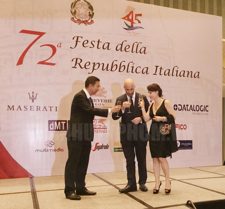 45th anniversary of Vietnam, Italy diplomatic ties marked in HCM city - ảnh 1