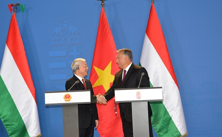 Vietnam, Hungary define orientations for future ties - ảnh 1