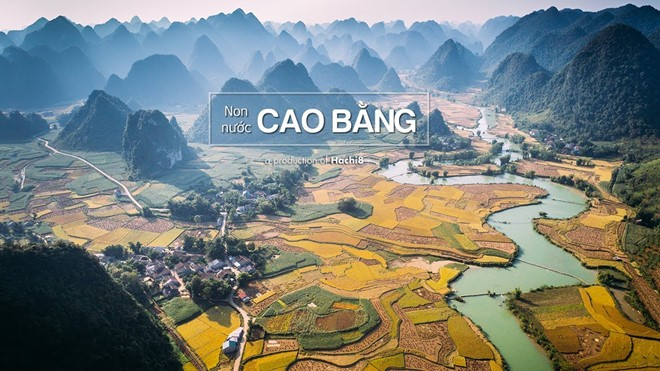 Non Nuoc Cao Bang global geopark's magnificient beauty - ảnh 1