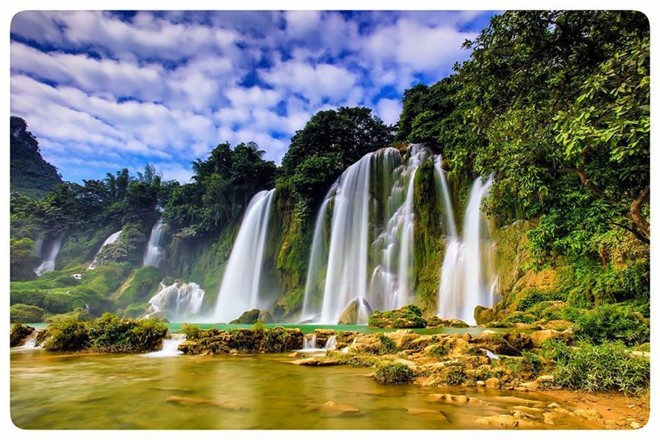 Non Nuoc Cao Bang global geopark's magnificient beauty - ảnh 3