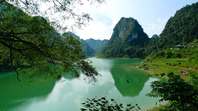 Non Nuoc Cao Bang global geopark's magnificient beauty - ảnh 9