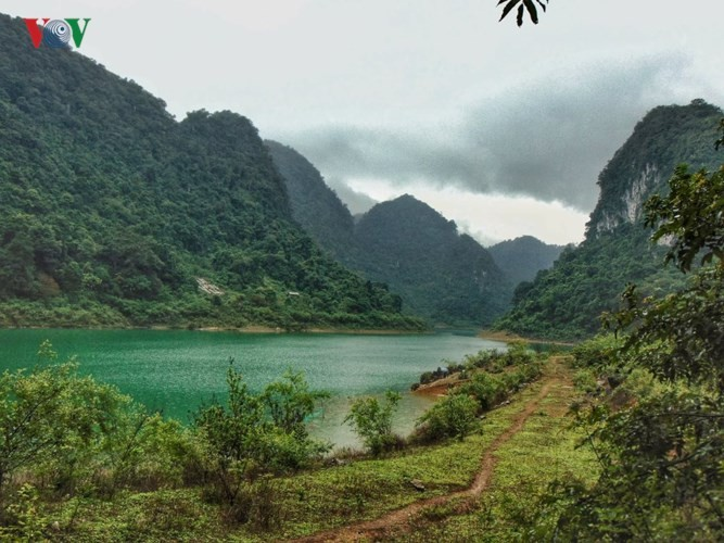 Non Nuoc Cao Bang global geopark's magnificient beauty - ảnh 8