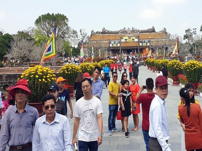 Tourism thrives in central region during Tet holiday - ảnh 1