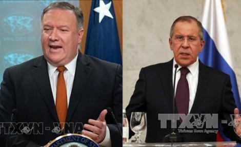 Lavrov, Pompeo discuss international issues - ảnh 1